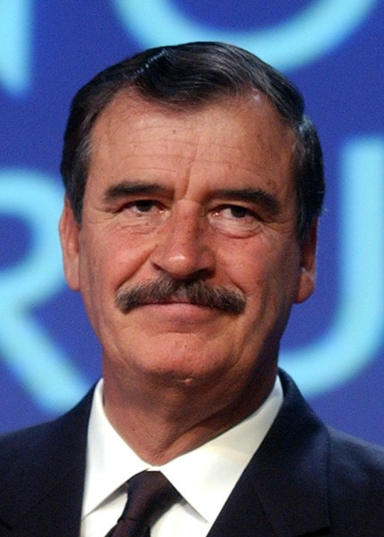 Former Mexico President Vicente Fox is not paying for Turmp's f***ing wall.