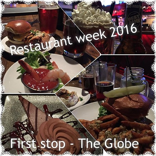 The Globe by Instagram user @freidacook