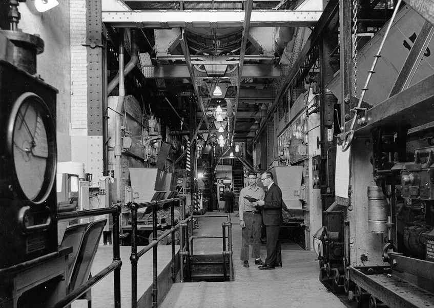 The Steam Plant of yesteryear.