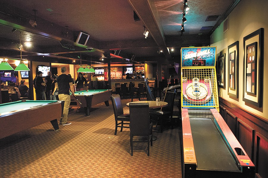 The casino games at Hugo's have been replaced with pool and arcade games. - KRISTEN BLACK