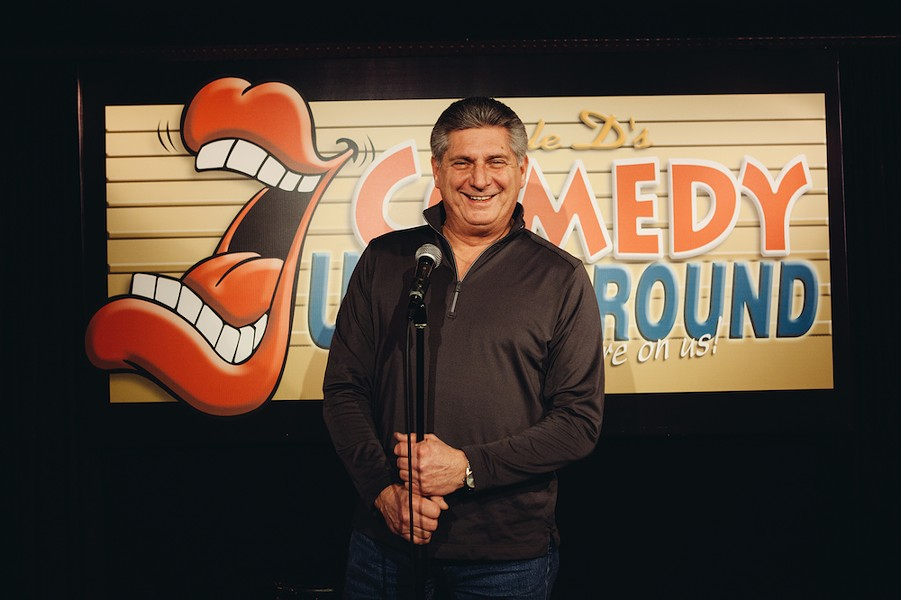 Uncle D's Comedy Underground owner Don Parkins plans to retire his business, but not his comedy. - KRISTEN BLACK PHOTO