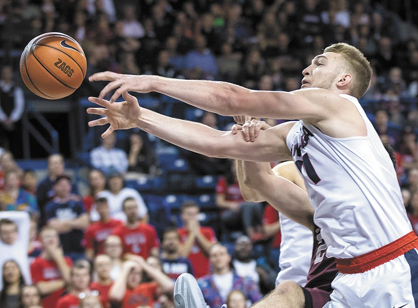 Domantas Sabonis is a force to be reckoned with for any team in Gonzaga's path. - RYAN SULLIVAN
