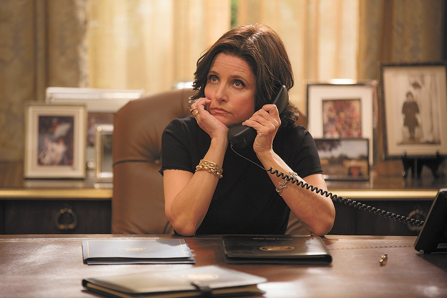 Julia Louis-Dreyfus as Vice President Selina Meyer.