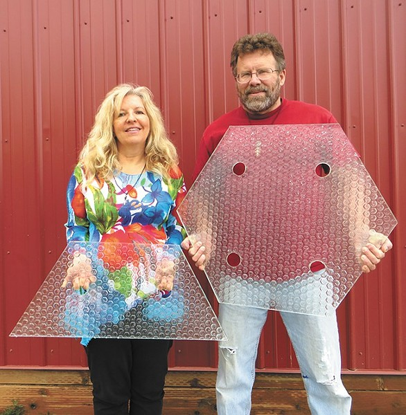 Solar Roadways co-founders Scott and Julie Brusaw