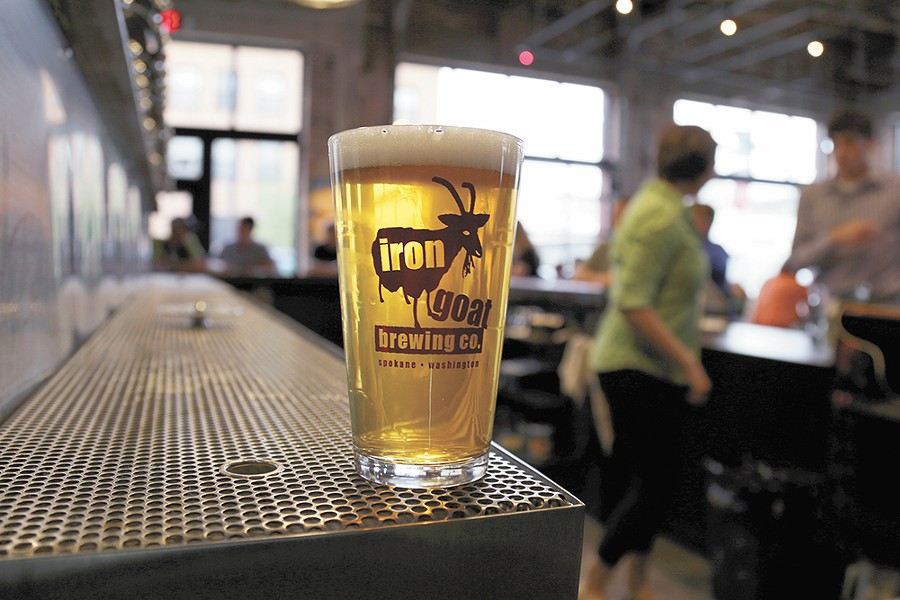 Iron Goat plans to expand its beer list at its new spot. - SARAH PHILP