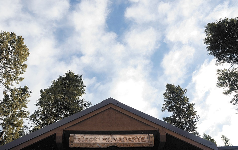 A childhood touchstone at Boy Scout camp. - MIKE SALSBURY