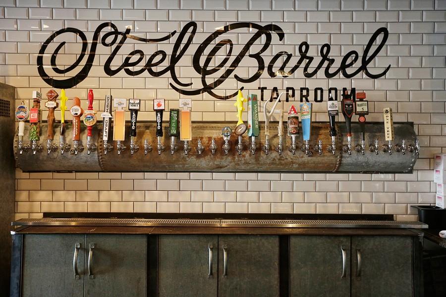 The Steel Barrel tasting room is open on Madison in downtown Spokane.