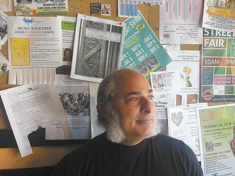 Garlandium creator David Jacobs wants all to be informed of the Garland neighborhood's happenings.