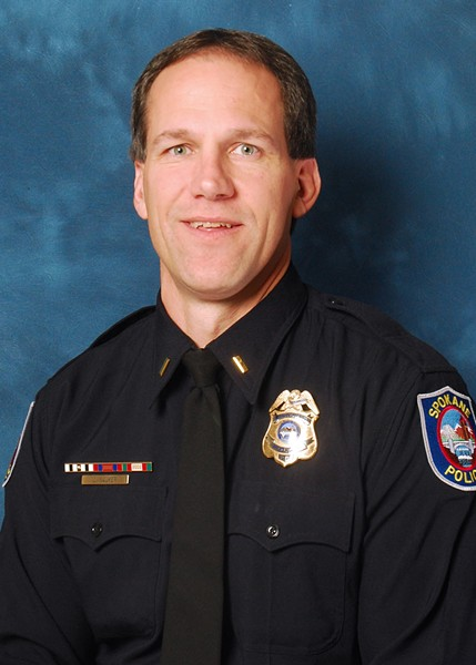 Lt. Joe Walker was subject of abuse and possible retaliation from Straub, Cappel's report found - SPD PHOTO