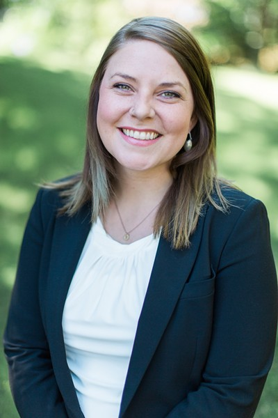 Kate Burke, former Peirone Prize winner, has filed to run for city council. - PHOTO COURTESY OF KATE BURKE