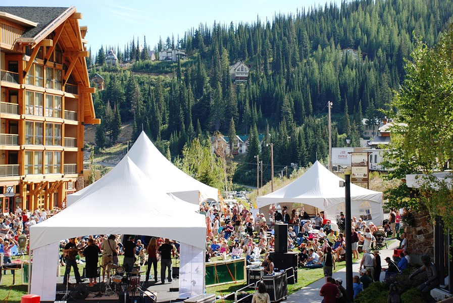 Schweitzer Fall Fast is Labor Day weekend.