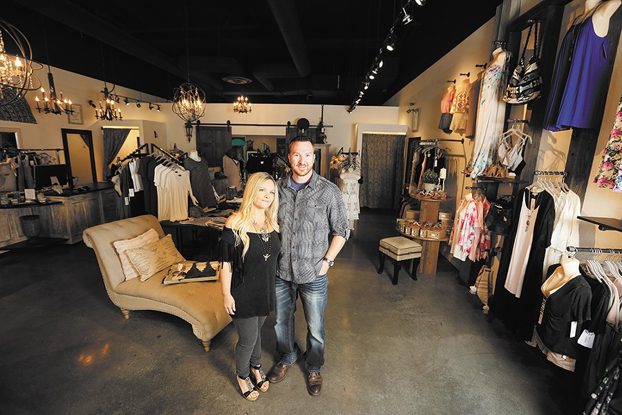 Suzy and Jeremy Shute opened their Coeur d'Alene store in 2014. - YOUNG KWAK