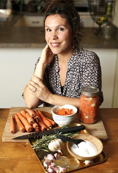 Cole Ina Merlo Griffin is a fermentation guru in Coeur d'Alene. - YOUNG KWAK