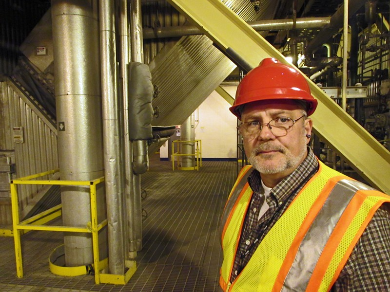 Before two workers were seriously burned today, Chuck Conklin, Spokane's director of solid waste disposal, had said the facility had a sterling safety record. - DANIEL WALTERS PHOTO