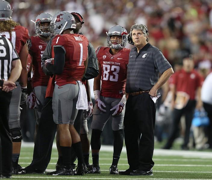 Head Coach Mike Leach