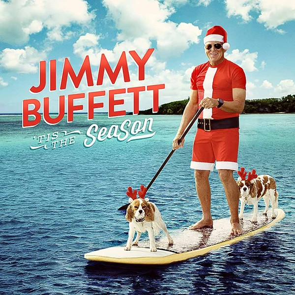 Yes, the cover for Buffett's latest Christmas album.