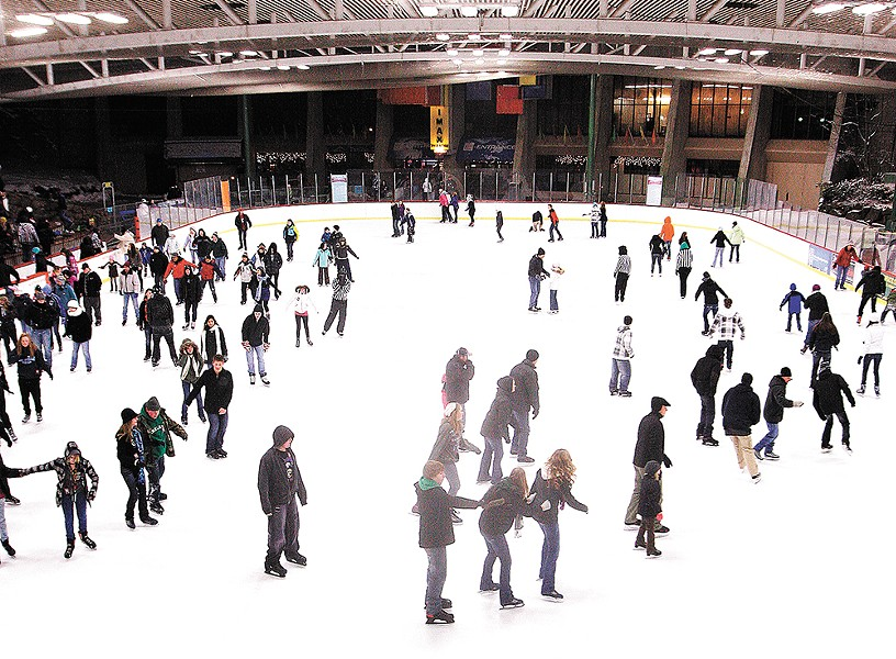 This year offers your last chance to skate at Riverfront Park's Ice Palace.