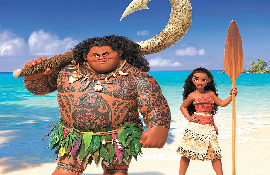Moana takes us to ancient Polynesia for a heroic story.