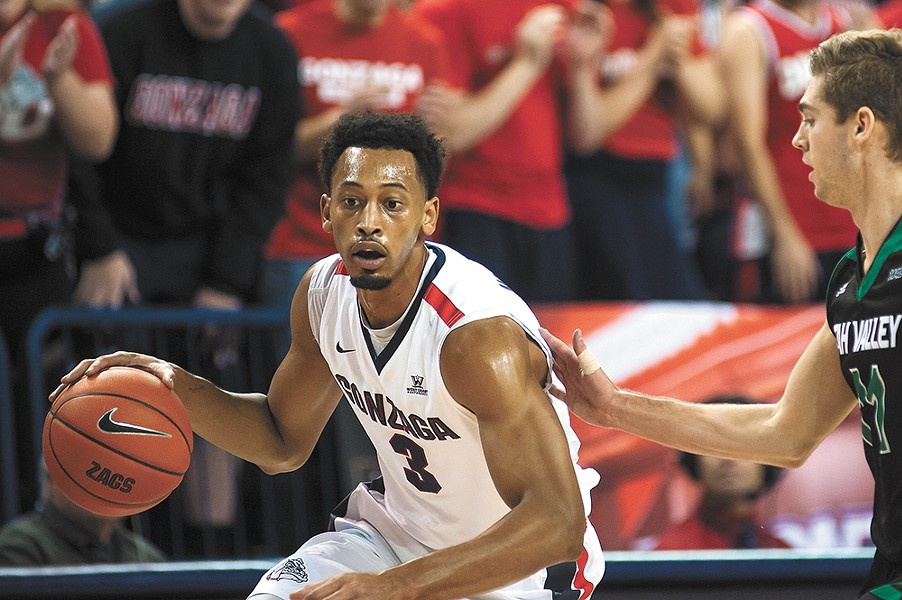 Johnathan Williams is just part of Gonzaga's multi-pronged scoring attack. - AUSTIN ILG