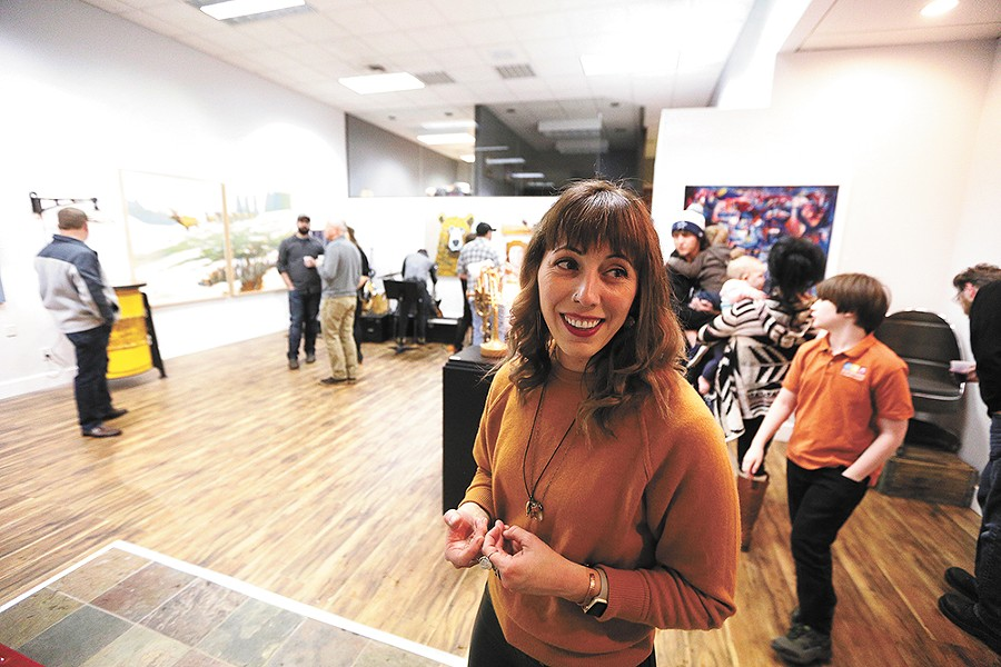 Jeni Riplinger-Hegsted, executive director of Emerge, a nonprofit aimed at bolstering arts and culture in Coeur d'Alene. - YOUNG KWAK