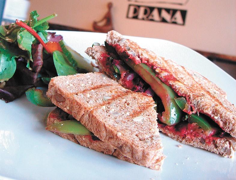 """Prana's menu is focused on """"clean eating."""" - CARRIE SCOZZARO"""