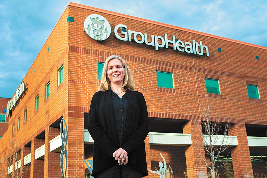 Kelly Stanford, Group Health's vice president of clinical operations and market integration, says it's important for patients to be involved in their own health care. - KRISTEN BLACK