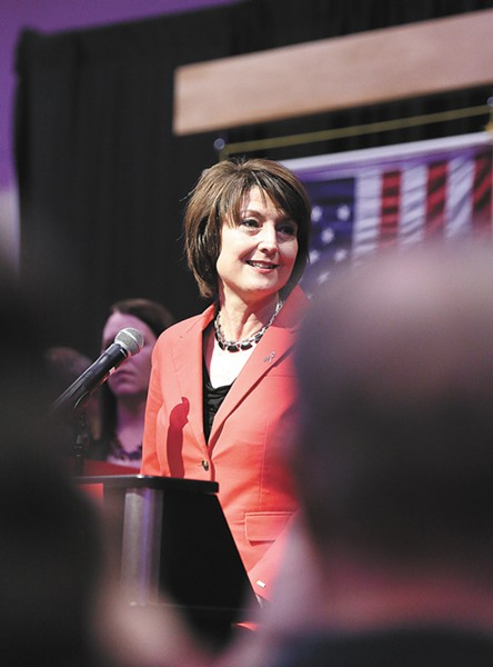 If Congresswoman Cathy McMorris Rodgers joins the Trump administration, expect a line of local leaders vying to replace her. - YOUNG KWAK