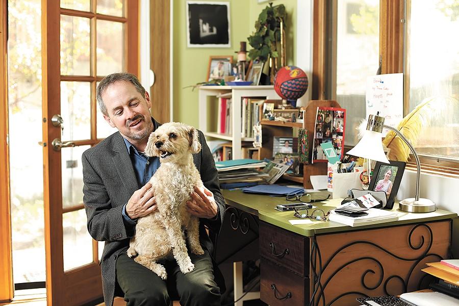 Washington state poet laureate Tod Marshall