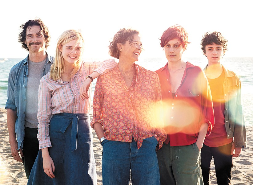 Annette Bening (center) leads a powerhouse cast in Mike Mills' latest.