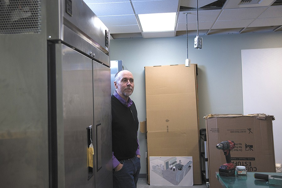 CAC Director Jeff Guyett says the teaching kitchen will be similar to one at Spokane's Second Harvest. - TARYN PHANEUF