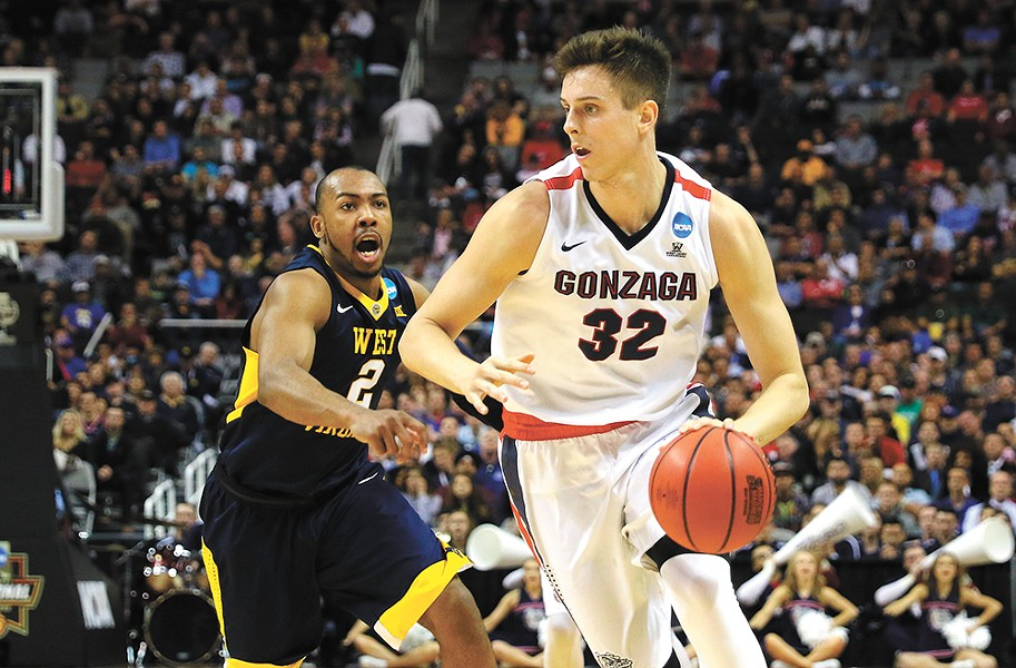 Gonzaga freshman big man Zach Collins. - TORREY VAIL/GU ATHLETICS
