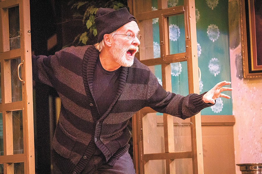 Gary Pierce plays Selsdon Mowbray in Noises Off. - JEFF FERGUSON