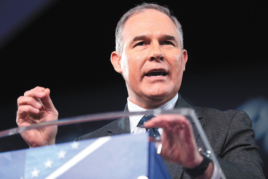Trump's choice to lead the EPA: Scott Pruitt - GAGE SKIDMORE