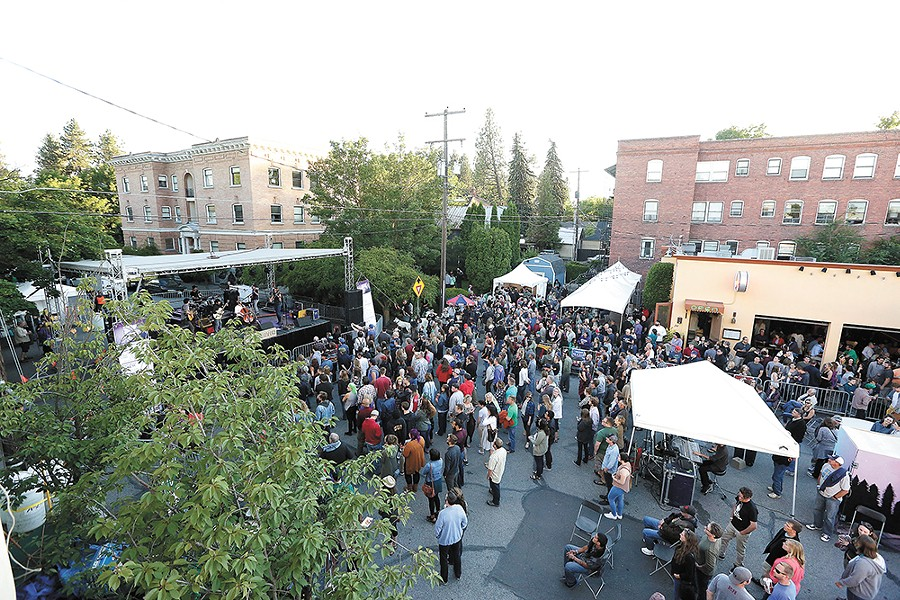 Elkfest brings three days of music to Spokane starting Friday. - YOUNG KWAK