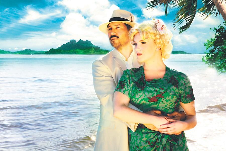 Iconic roles: Whitney Miller plays Nellie Forbush, while Brandon Michael inhabits Emile de Becque.