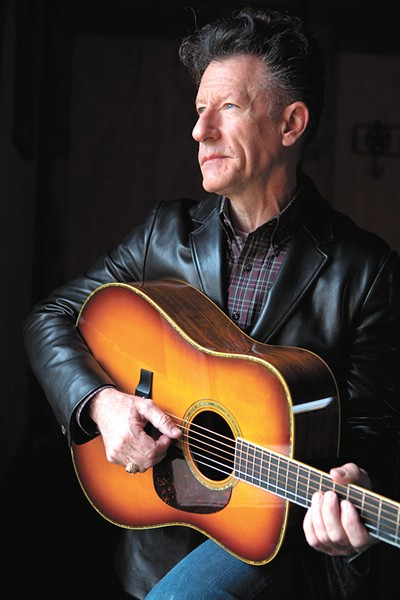 Country star Lyle Lovett performs at the Fox on Friday night.