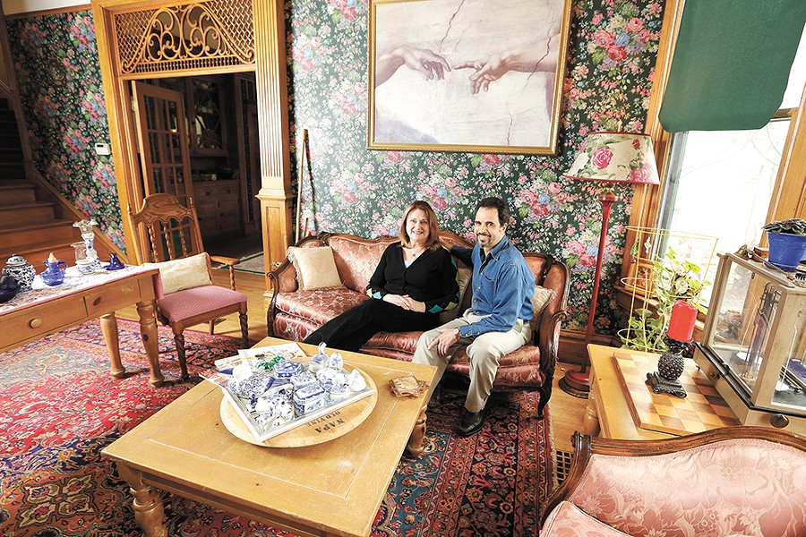 Spokane's 1899 House Bed & Breakfast, owned by Gillian Cranehahn and Louie Flores III, is friendly to cannabis. - YOUNG KWAK