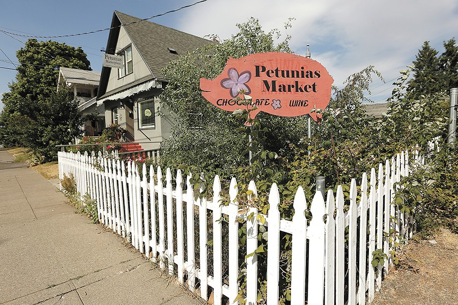 Petunias brings a hip market vibe to the North Side.