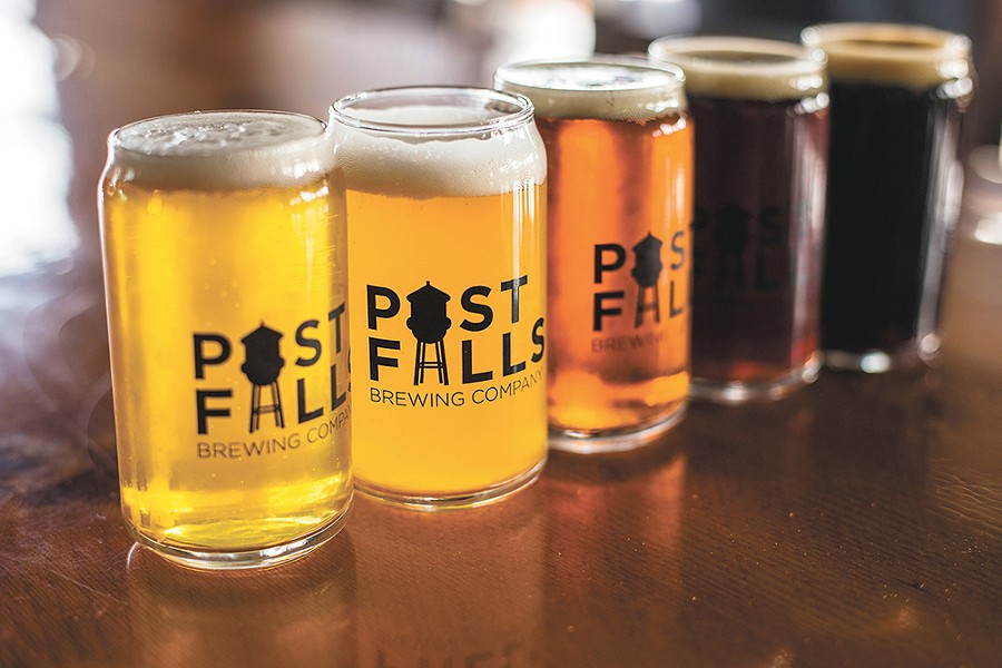Post Falls Brewing is tapping into the trend of New England-style IPAs. - DAN COUILLARD