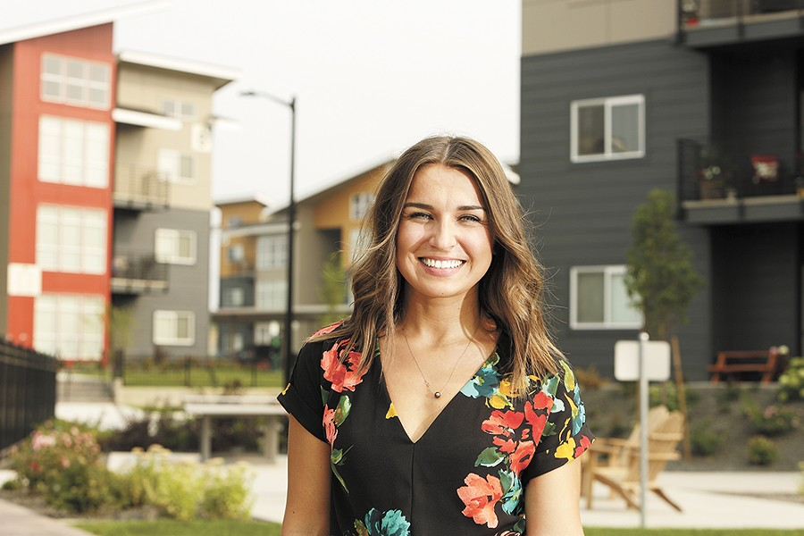 Dina Khala, regional property manager for Greystar, says a major part of the market's demand has come from millennials, who'd rather rent a swanky apartment they can show off on social media than buy a starter home. - YOUNG KWAK