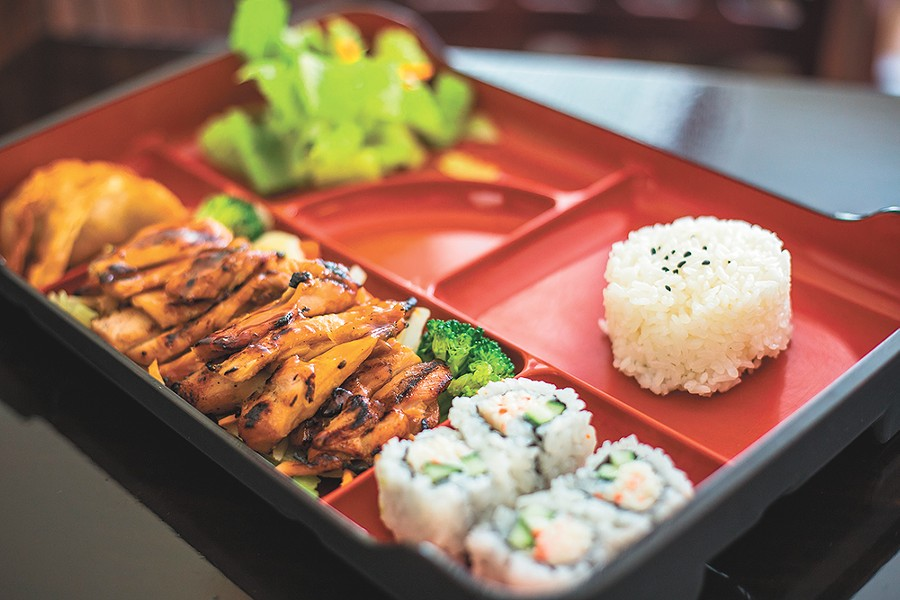 Little Kyoto serves bento boxes for lunch and dinner. | Dan Couillard photo