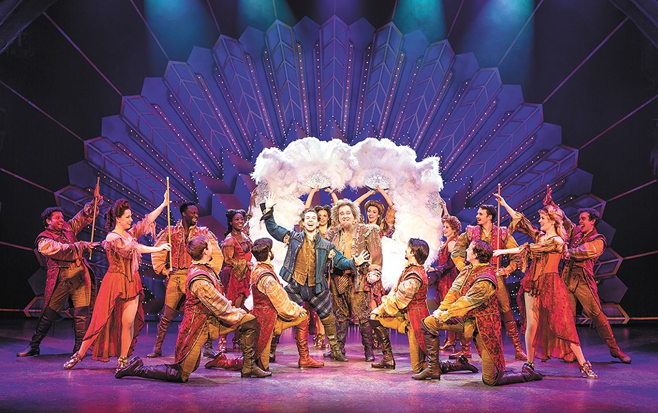 Something Rotten arrives at the INB this fall.