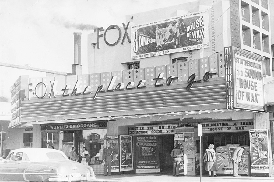The Fox in the '50s