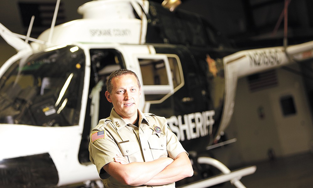 As Dave Ellis has climbed the ladder to undersheriff, he's worked as a patrol deputy, a SWAT team member, a property and sex crimes detective and an instructor. - YOUNG KWAK