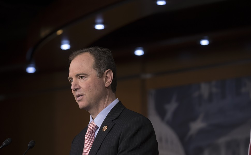 Rep. Adam Schiff (D-Calif.) speaks on Capitol Hill in Washington, March 22, 2017. Schiff, the top Democrat on the House Intelligence Committee, said he wants to know exactly what steps Twitter has taken to find covert Russian activity and what it has found so far about fake accounts, bots and their reach and impact. - STEPHEN CROWLEY/THE NEW YORK TIMES