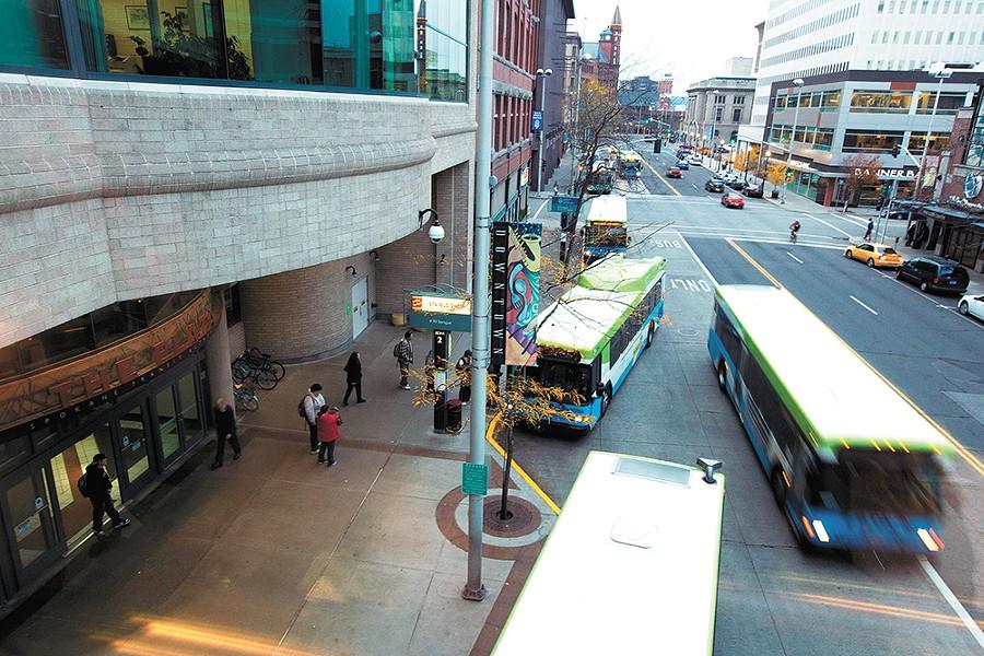 Public buses vs. free speech. - YOUNG KWAK