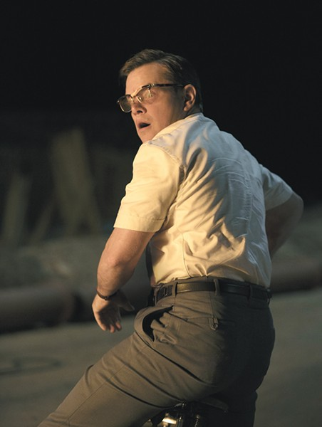 Matt Damon's a bad dad in Suburbicon.