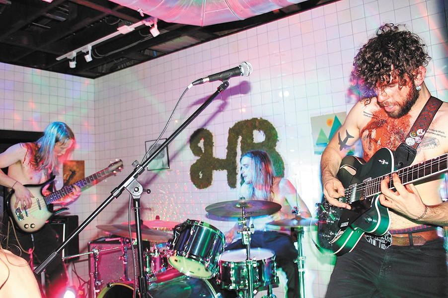 Charcoal Squids' frontman Joshua Bacha. - EMILY GRIFFIN PHOTO