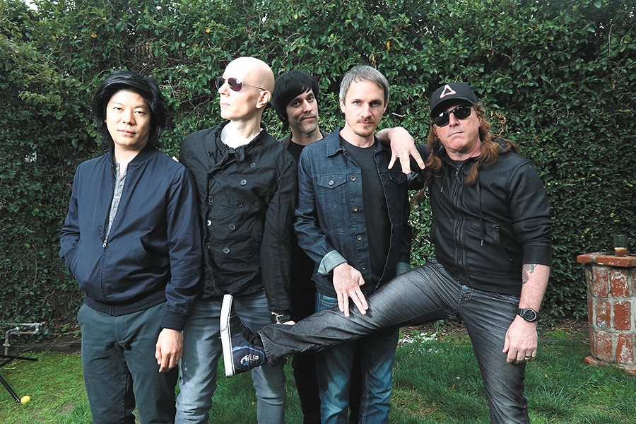A Perfect Circle's Billy Howerdel (second from left) on the key to enjoying live music: Be present. And put your phone away. - TIM CADIENTE