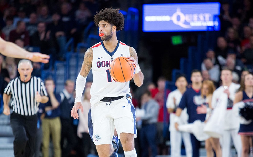 Josh Perkins is lighting it up from outside so far this season — even if some announcers don't realize it.